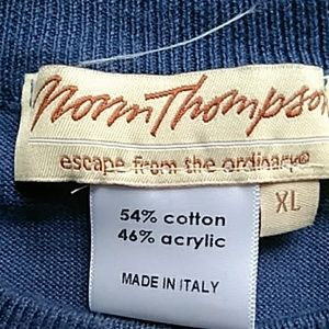 Norm Thompson Sweaters - *3 for $10* Norm Thompson Blue Sweater Size XL